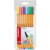 Stabilo Point 88 Pastel Fineliners- Pack 8